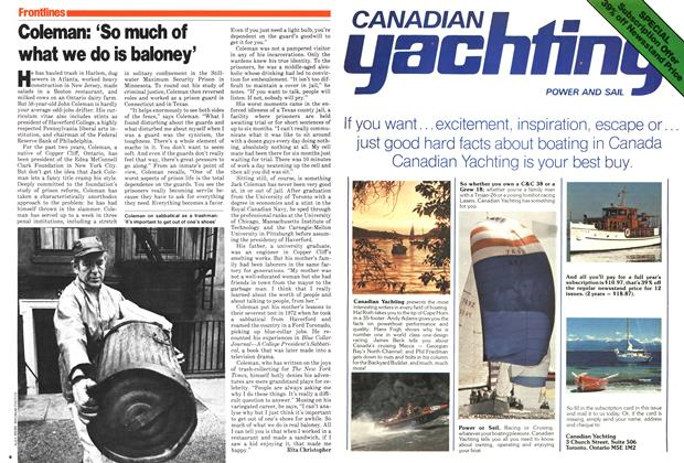 Article Preview: Coleman: 'So much of what we do is baloney', July 1979 | Maclean's