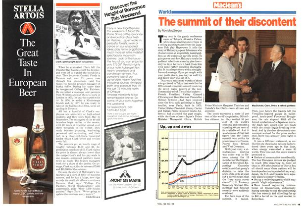 Article Preview: The summit of their discontent, July 1979 | Maclean's