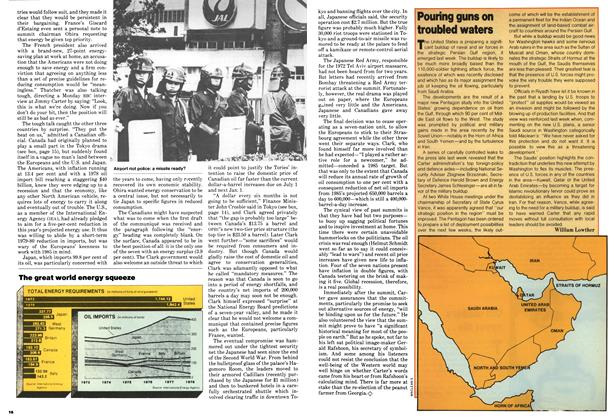 Article Preview: Pouring guns on troubled waters, July 1979 | Maclean's