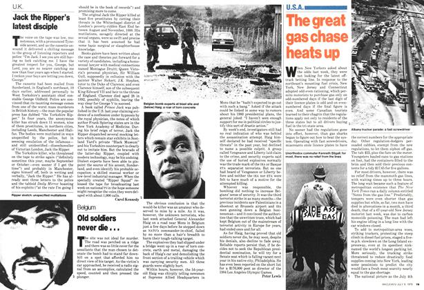 Article Preview: Old soldiers never die..., July 1979 | Maclean's