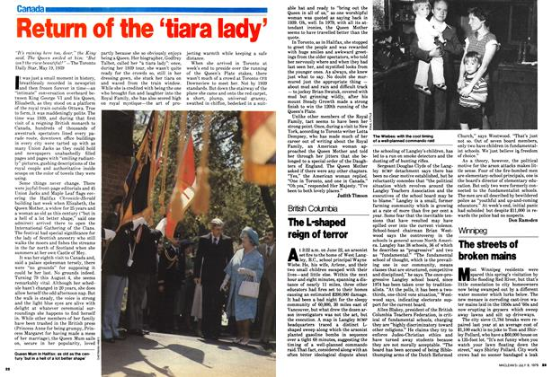 Article Preview: Return of the 'tiara lady', July 1979 | Maclean's