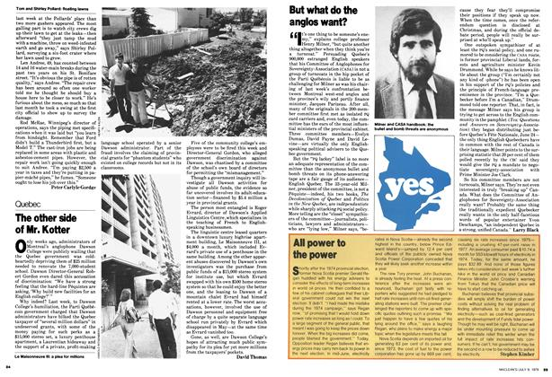 Article Preview: All power to the power, July 1979 | Maclean's