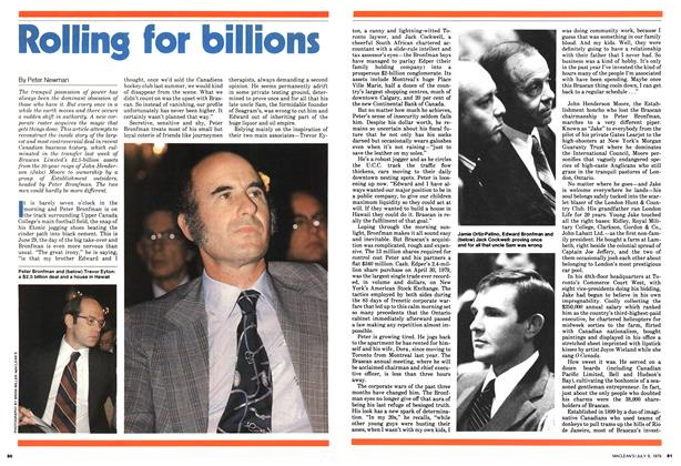 Article Preview: Rolling for billions, July 1979 | Maclean's