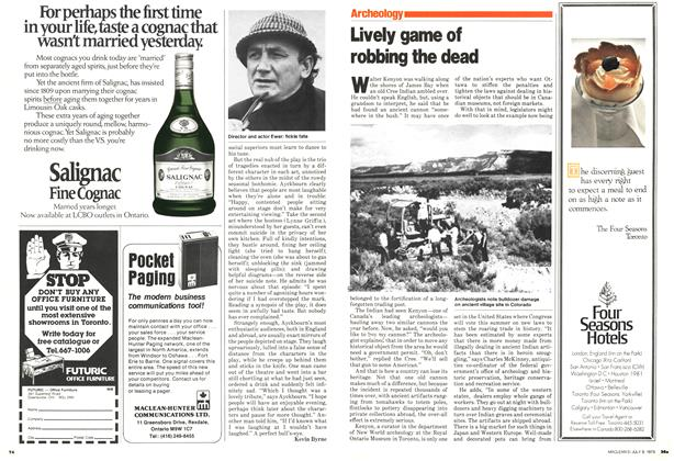 Article Preview: Lively game of robbing the dead, July 1979 | Maclean's