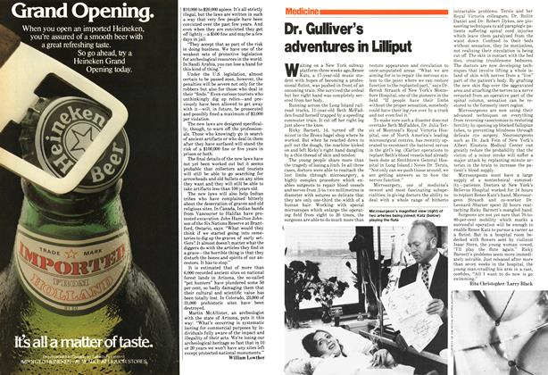Article Preview: Dr. Gulliver's adventures in Lilliput, July 1979 | Maclean's
