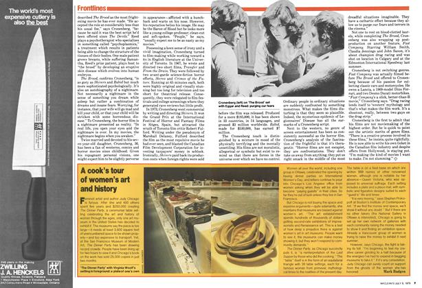 Article Preview: A cook's tour of women's art and history, July 1979 | Maclean's