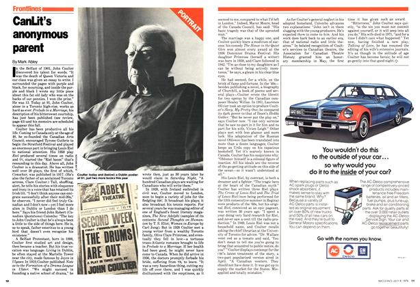Article Preview: CanLit's anonymous parent, July 1979 | Maclean's