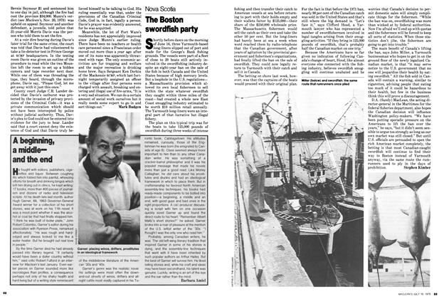 Article Preview: A beginning, a middle— and the end, July 1979 | Maclean's