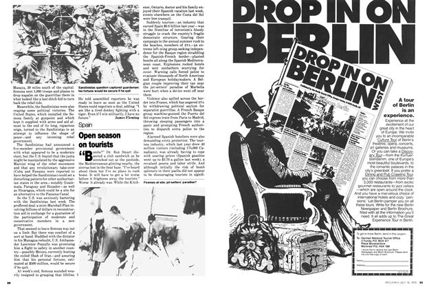 Article Preview: Open season on tourists, July 1979 | Maclean's