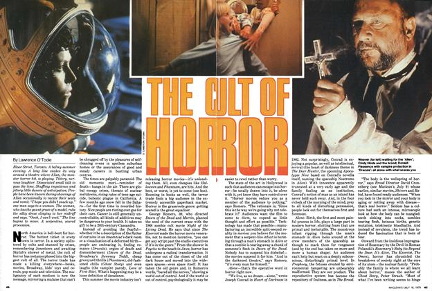 Article Preview: THE CULT OF HORROR, July 1979 | Maclean's