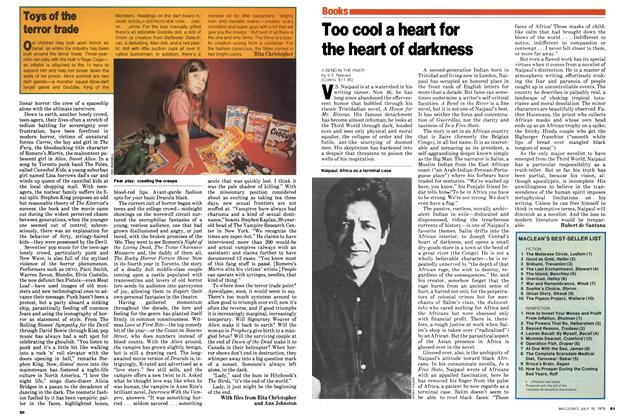 Article Preview: Too cool a heart for the heart of darkness, July 1979 | Maclean's