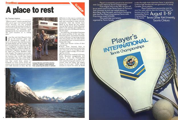 Article Preview: A place to rest, July 1979 | Maclean's