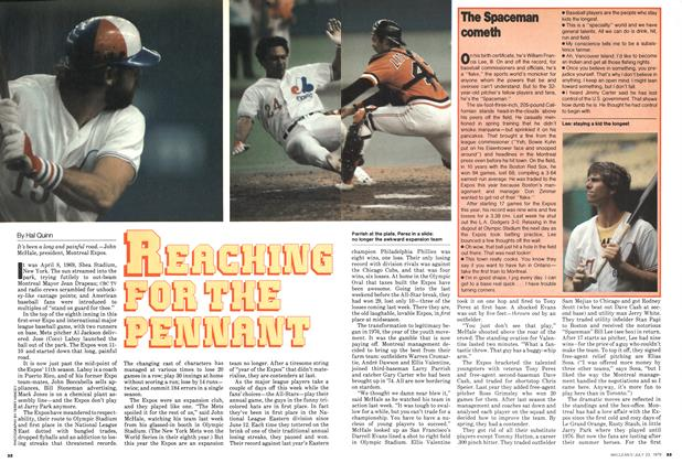 Article Preview: REACHING FOR THE PENNANT, July 1979 | Maclean's