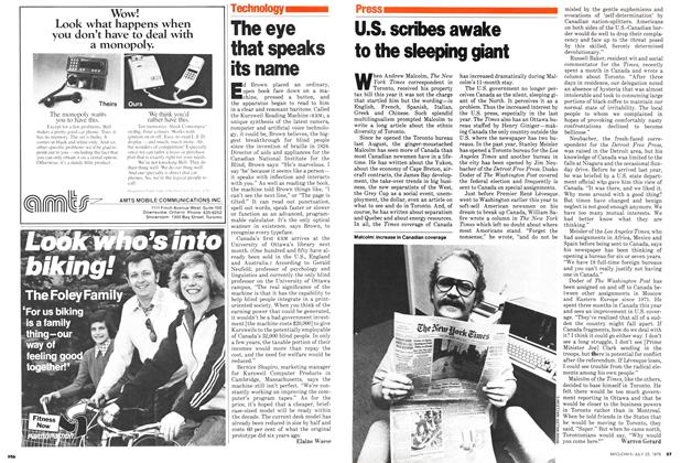 Article Preview: U.S. scribes awake to the sleeping giant, July 1979 | Maclean's