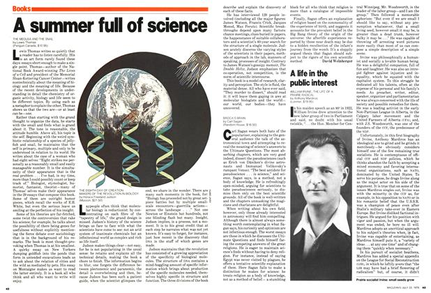 Article Preview: A summer full of science, July 1979 | Maclean's