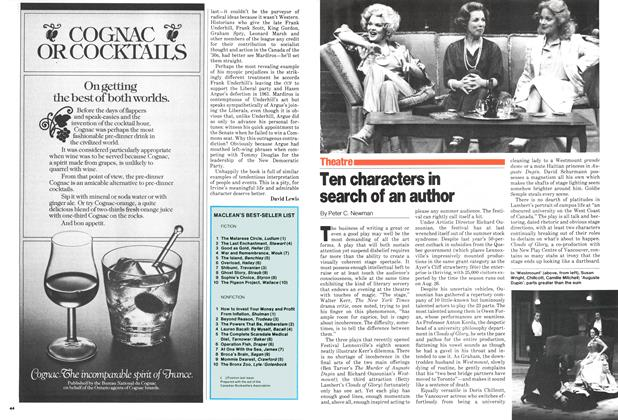 Article Preview: Ten characters in search of an author, July 1979 | Maclean's