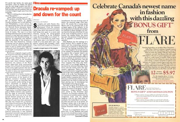 Article Preview: Dracula re-vamped: up and down for the count, July 1979 | Maclean's