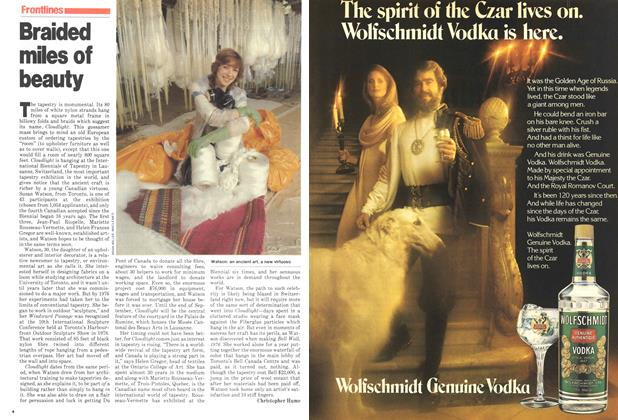 Article Preview: Braided miles of beauty, July 1979 | Maclean's