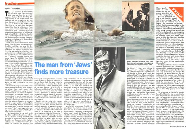 Article Preview: The man from 'Jaws' finds more treasure, July 1979 | Maclean's