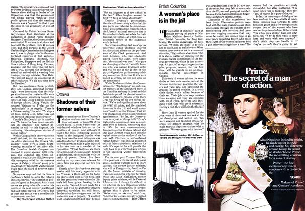 Article Preview: A woman's place is in the jail, July 1979 | Maclean's
