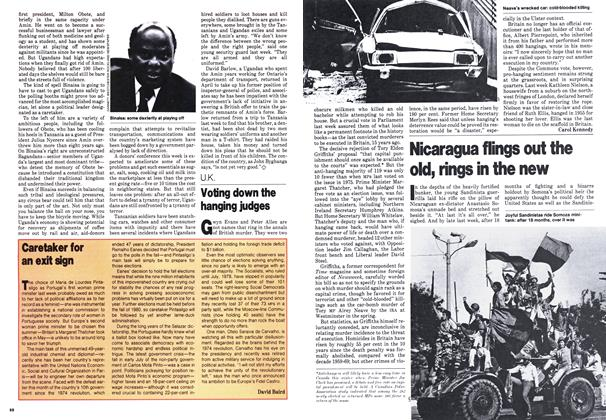 Article Preview: Voting down the hanging judges, July 1979 | Maclean's