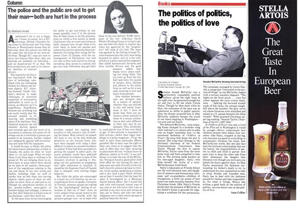 Article Preview: The politics of politics, the politics of love, July 1979   Maclean's
