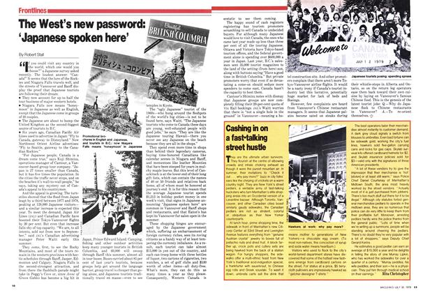 Article Preview: The West's new password: 'Japanese spoken here', July 1979 | Maclean's