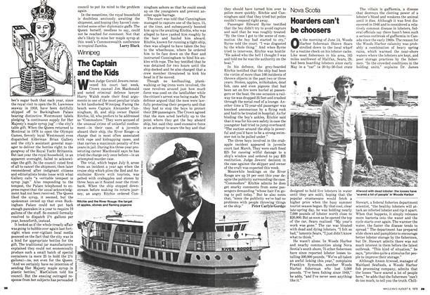 Article Preview: The Captain and the Kids, August 1979 | Maclean's