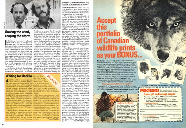 Article Preview: Waiting for MacBlo, August 1979 | Maclean's