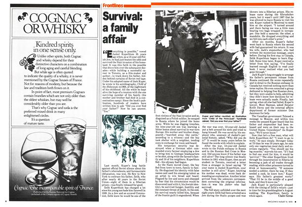 Article Preview: Survival: a family affair, August 1979 | Maclean's