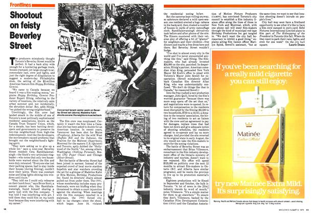 Article Preview: Shootout on feisty Beverley Street, August 1979 | Maclean's
