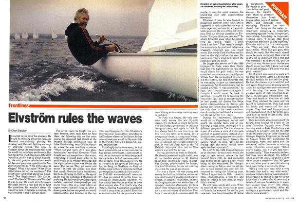 Article Preview: Elvström rules the waves, August 1979 | Maclean's