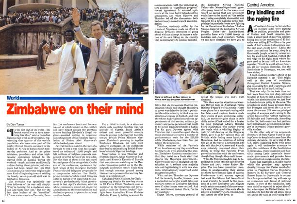 Article Preview: Zimbabwe on their mind, August 1979 | Maclean's