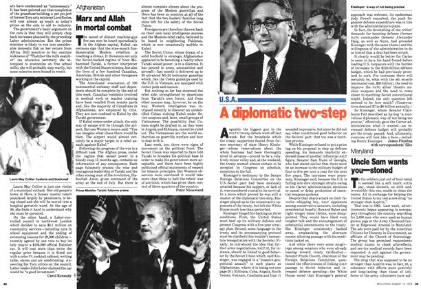 Article Preview: Marx and Allah in mortal combat, August 1979 | Maclean's