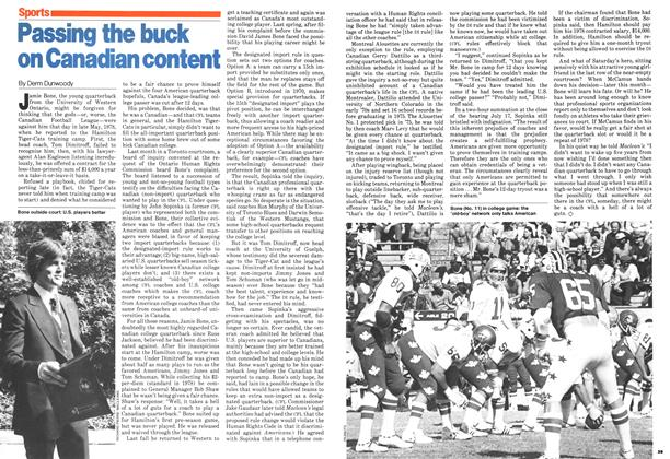 Article Preview: Passing the buck on Canadian content, August 1979 | Maclean's