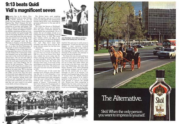 Article Preview: 9:13 beats Quidi Vidi's magnificent seven, August 1979   Maclean's