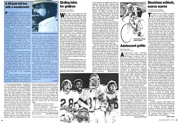 Article Preview: Girding loins for gridiron, August 1979 | Maclean's