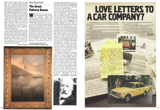 Article Preview: The Great Railway Bazaar, August 1979 | Maclean's