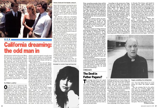 Article Preview: California dreaming: the odd man in, August 1979 | Maclean's