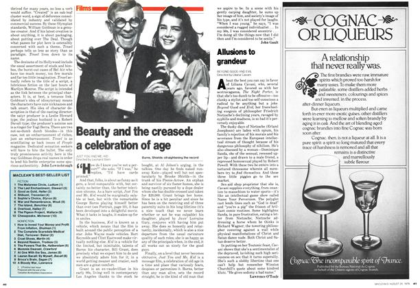 Article Preview: Beauty and the creased: a celebration of age, August 1979 | Maclean's