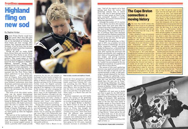 Article Preview: The Cape Breton connection: a moving history, August 1979 | Maclean's