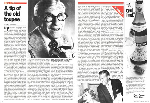 Article Preview: A tip of the old toupee, August 1979 | Maclean's