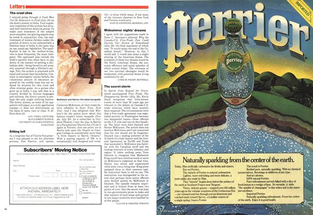 Article Preview: Letters, August 1979 | Maclean's