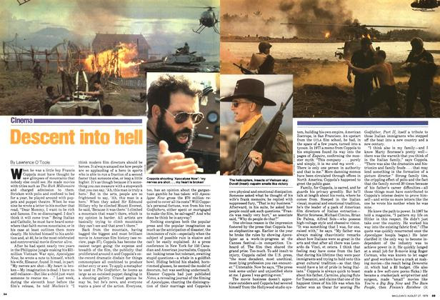 Article Preview: Descent into hell, August 1979 | Maclean's