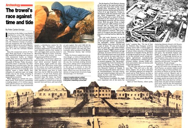 Article Preview: the trowel's race against time and tide, August 1979 | Maclean's