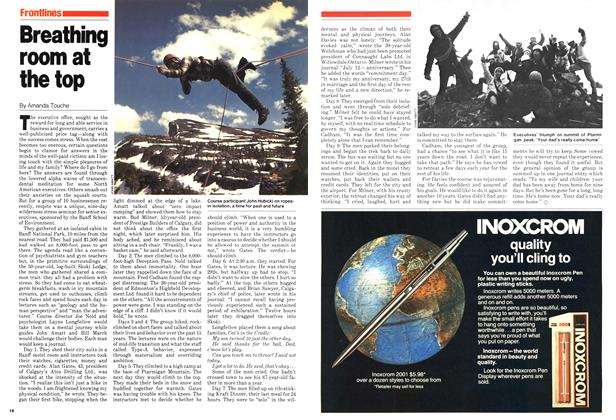 Article Preview: Breathing room at the top, August 1979 | Maclean's
