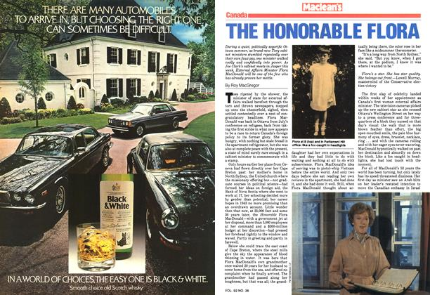 Article Preview: THE HONORABLE FLORA, September 1979 | Maclean's