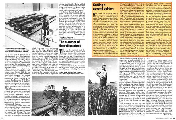 Article Preview: The summer of their discontent, September 1979 | Maclean's