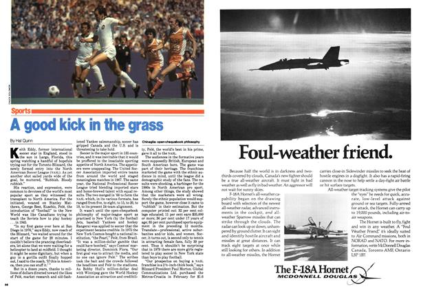 Article Preview: A good kick in the grass, September 1979 | Maclean's
