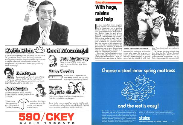 Article Preview: With hugs, raisins and help, September 1979 | Maclean's